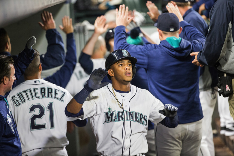 MLB ACTION:  HOUSTON ASTROS AT SEATTLE MARINERS