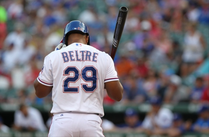 MLB: JUL 25 Athletics at Rangers